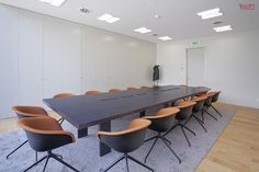 Vista geral sala executivo Fotografia: José Lobo