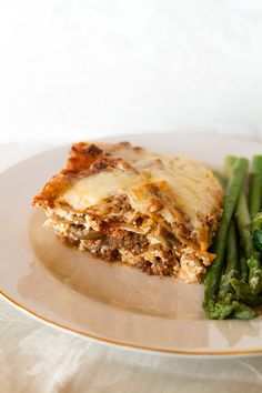 Cheesy Beef Lasagna - The Kitchen Magpie