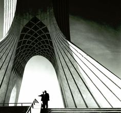 Ove arup working on Shahyad Ariamehr project in Tehran