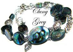 The Jewelry Blog - Abalone Jewelry Bracelet