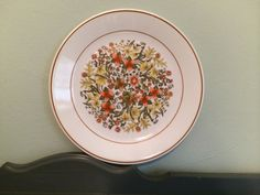 Four Corelle Indian Summer 10 Dinner Plates by HobAndNail on Etsy