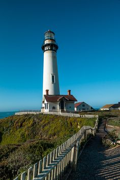 Pigeon Point Lighthouse by John Dunec, via 500px