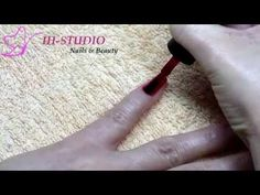 NUEVA técnica de esmaltado semipermanente paso a paso | manicura permanente con uñas de gel - YouTube