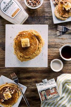 Christmas Morning Boozy Gingerbread Pancakes   Waiting on Martha   Bloglovin'