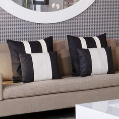 Kelly Hoppen pillows Scatter Cushions, Cushions On Sofa, Bed Weather, Kelly Hoppen Interiors, Cushion Inspiration, Art Deco Bedroom, Pillow Talk, Soft Furnishings, Decorative Pillows