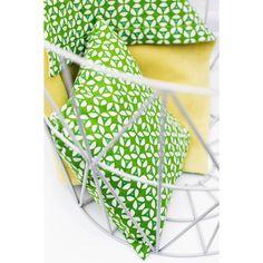 Coussin carré décoratif Geo Green (26 x 26 cm) : Trixie Baby - Coussin carré - Berceau Magique 17,95 euros