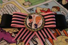 Beavis and Butthead hairbow by nerdburgerjewellery on Etsy, $8.00
