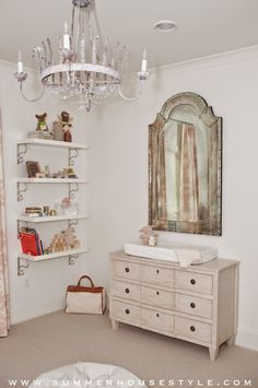 The Glam Pad: Mary McDonald for Schumacher in the Nursery