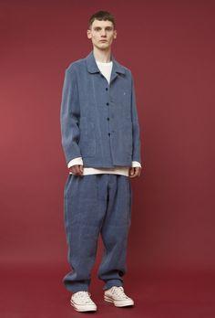 E.Tautz Blouson Jacket, Sidian, Ersatz & Vanes Shirt and E.Tautz Pants