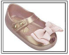 0bce945beb75d Mini Melissa My First Melissa-Metallic Pink-Mini Melissa Shoes