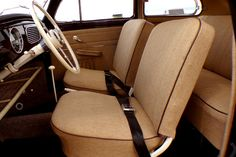 Tweed vw bug interior | Classic VW BuGs Now Offering 3 Signature Vallone Interior Kits