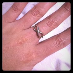 Tiffany & Co. infinity ring (sterling silver) Size 5.5 Infinity Ring from Tiffany & Co. Tiffany & Co. Jewelry Rings