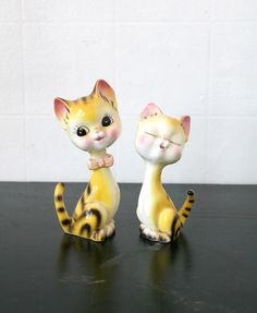 SALE Tiger Cat Figurines