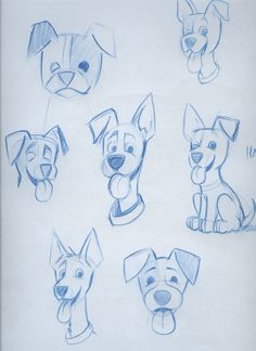 Cartoon_Dog_Sketch_by_timmcfarlin.jpg (900×1237)