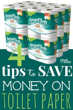 Four Tips :: How To Save Money On Toilet Paper - Cleverly Simple®