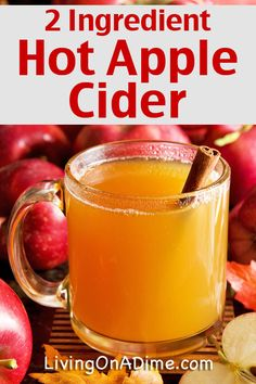 These two easy homemade apple cider recipes are so yummy and nothing ...