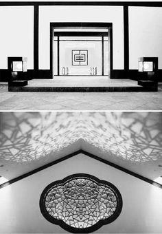 100款新中式景观节点意向图 Entrance Design, Chinese Garden, Chinese Style, Contemporary, Frame, Interior, China, Home Decor, Picture Frame