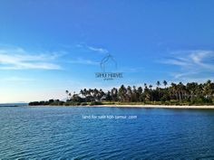Beach land for sale on small island just a few minutes from Koh Samui