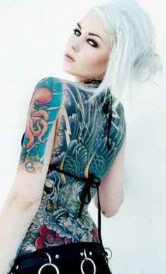 Kristen Leanne | fille tatouée | Inkage