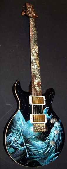 PRS Private Stock Santana Dragon