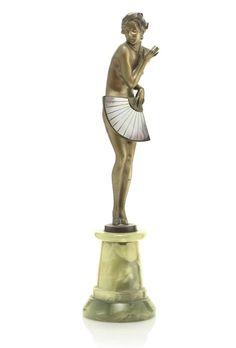 JOSEF LORENZL - 'FAN DANCER', CIRCA 1925