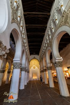 Sinagoga de Santa María la Blanca. Toledo. Castilla la Mancha. España.