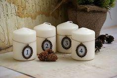 ReniJa / Adventné sviečky Baroko