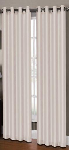 "New Madison Park Lined Window Valance 50/""wx18/""H ~ Ivory Taupe Beige NIP"