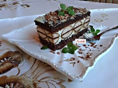Kakao, Desert Recipes, Nutella, Baked Goods, Sweet Recipes, Tiramisu, Cheesecake, Food And Drink, Cooking Recipes