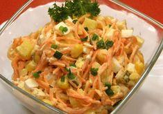 Легкий и яркий салат!!Обезьяна любит все необычное, потому и должны быть оригинальными салаты на Новый год. А раз так, то приготовьте салат на Новый год 2016, который называется «Исключительный». В его состав входят