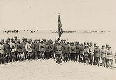 Ottoman officers who successfully defended Gaza during the first battle, March 1917