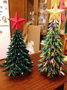 Модульные оригами — Я учусь   OK.RU Christmas Wreaths, Christmas Tree, Gift Wrapping, Diy Crafts, Holiday Decor, Gifts, Home Decor, Embroidery Ideas, Blue Prints