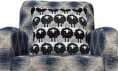 Ravelry: breezily's Stolid Sheep cushion cover