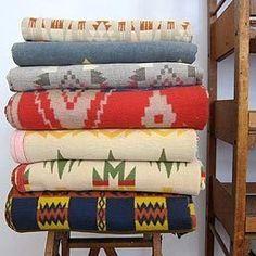 Worth It: Vintage Beacon & Esmond Mills Camp Blankets