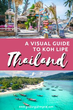 Koh Lipe Thailand a true paradise in the Andaman Sea. Come take a 2 minute trip to the Thai island of Koh Lipe with us! On our last trip to Koh Lipe, we spen. Thailand Honeymoon, Phuket Thailand, Thailand Travel, Asia Travel, Beach Travel, Phi Phi Island, Koh Phangan, Top Travel Destinations, Places To Travel
