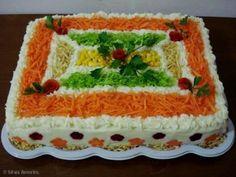 Receita de Torta Salgada de Frango ou Atum (de pão de forma)