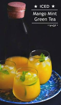 Tea Recipes, Smoothie Recipes, Real Food Recipes, Dessert Recipes, Drink Recipes, Yummy Drinks, Healthy Drinks, Yummy Food, Healthy Food