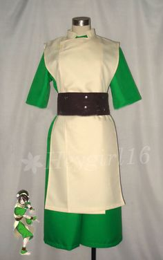 Avatar: The Last Airbender Toph Cosplay Costume
