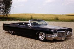 64 cadillac coupe deville convertible black