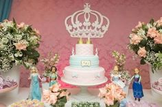 festa infantil cha das princesas - Buscar con Google