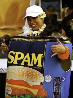 Spam! parade in Hawaii, no doubt
