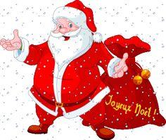 """Entraînement en ligne - FLE: Deux superbes comptines de Noël: """"En attendant le père Noël"""" et """" Père Noël frappe à la porte"""". Vidéos et paroles"""