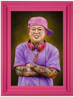 ARTIST: Scott Scheidly via: #Yellowmenace | #AsianInspired #KimJongIl http://yellowmenace.tumblr.com/tagged/Asian%20inspired
