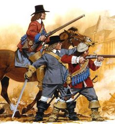 Dragoons - English Civil War 1642 - 1651
