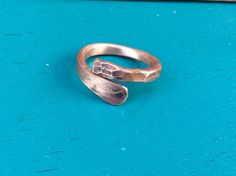 Steampunk Ring. Gehämmert Kupfer Ring. Wikinger Ring. Rustikal und verstellbar…