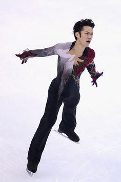 Daisuke Takahashi  - Men's Figure Skating / Ice Skating dress inspiration for Sk8 Gr8 Designs.