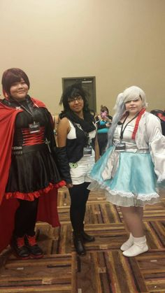 Ruby Cosplay: Fb page- Plus Size Cosplay Weiss Cosplay: Fb page- Seduce Deduce