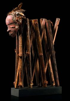 """Divination instrument """"galukoji"""" from the Pende people of DR Congo 