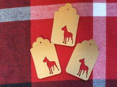 Die Cut Great Dane Tag by NatureCuts on Etsy