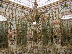 Salón de porcelana de Giuseppe Ricci. Palacio de Aranjuez. Rococó. Siglo XVIII